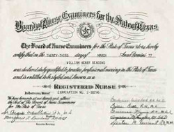 Nursing License